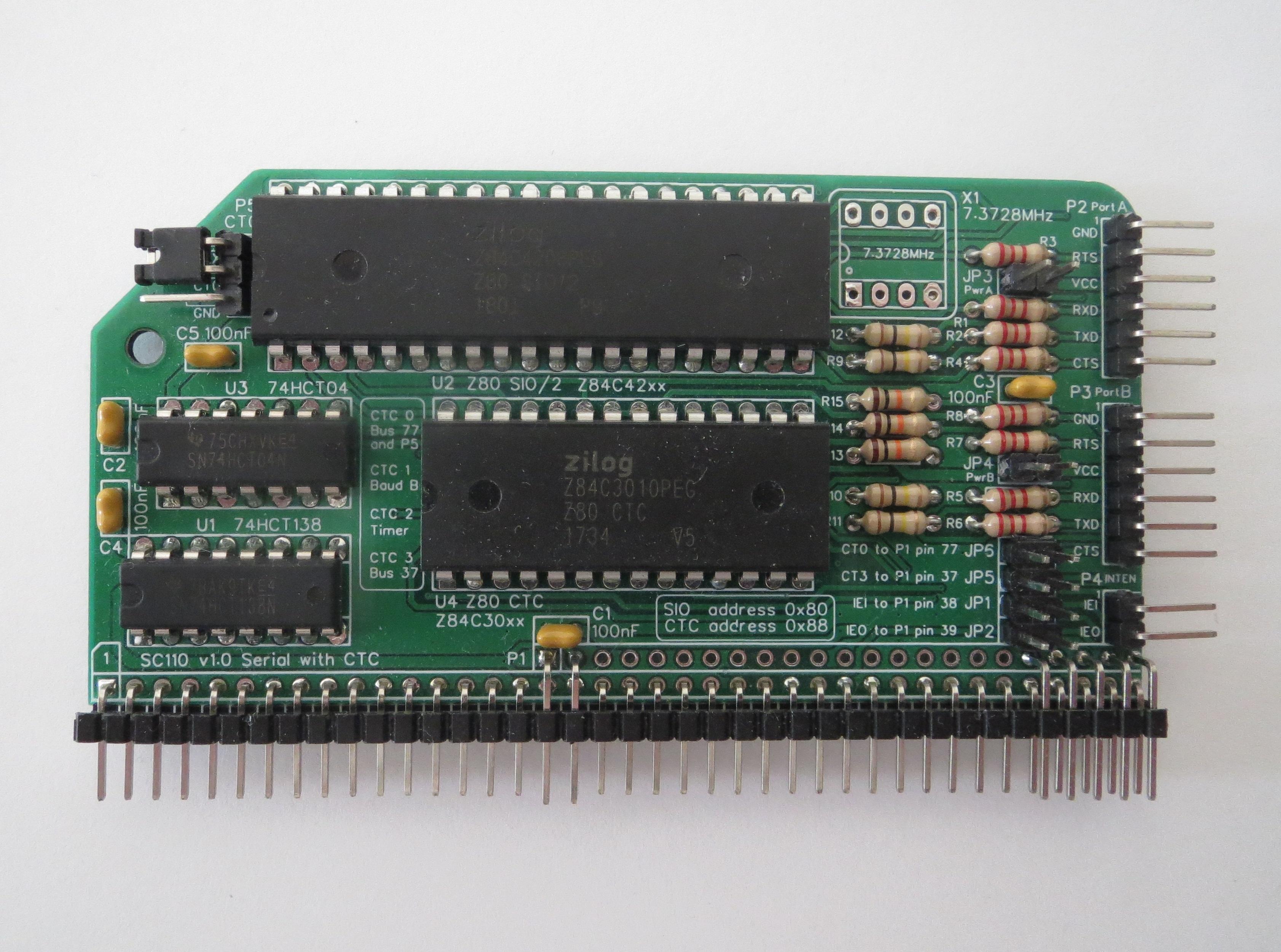 SC110 assembled