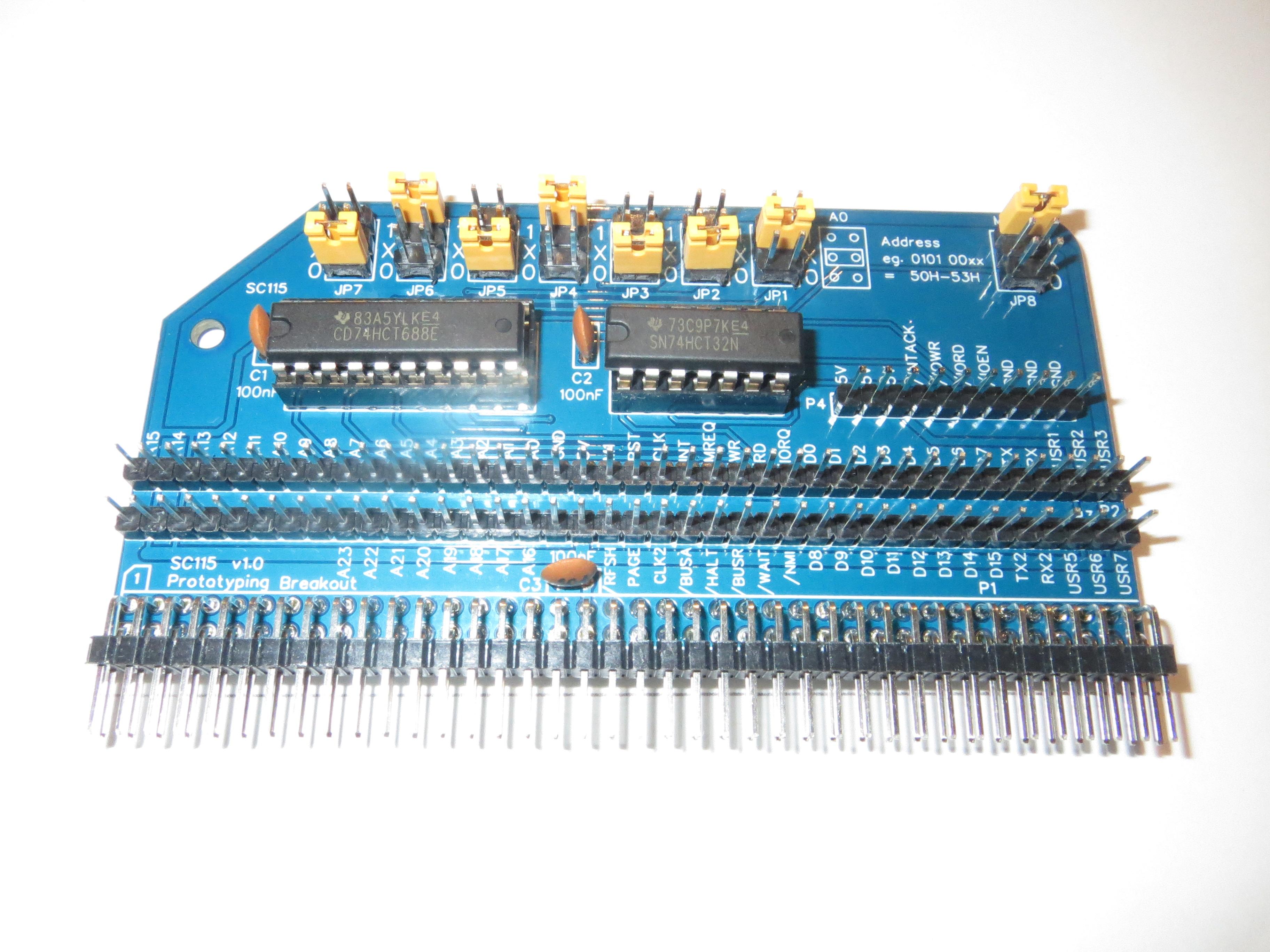 SC115 v1.0 Assembled