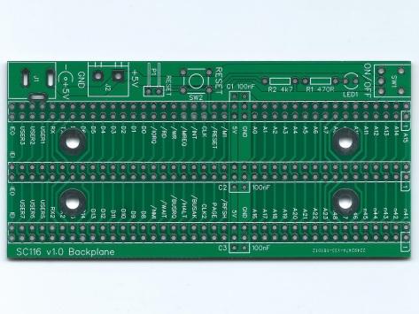 SC116 v1.0 PCB Image Green Top