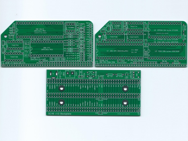 SC201 PCB Image Green Top
