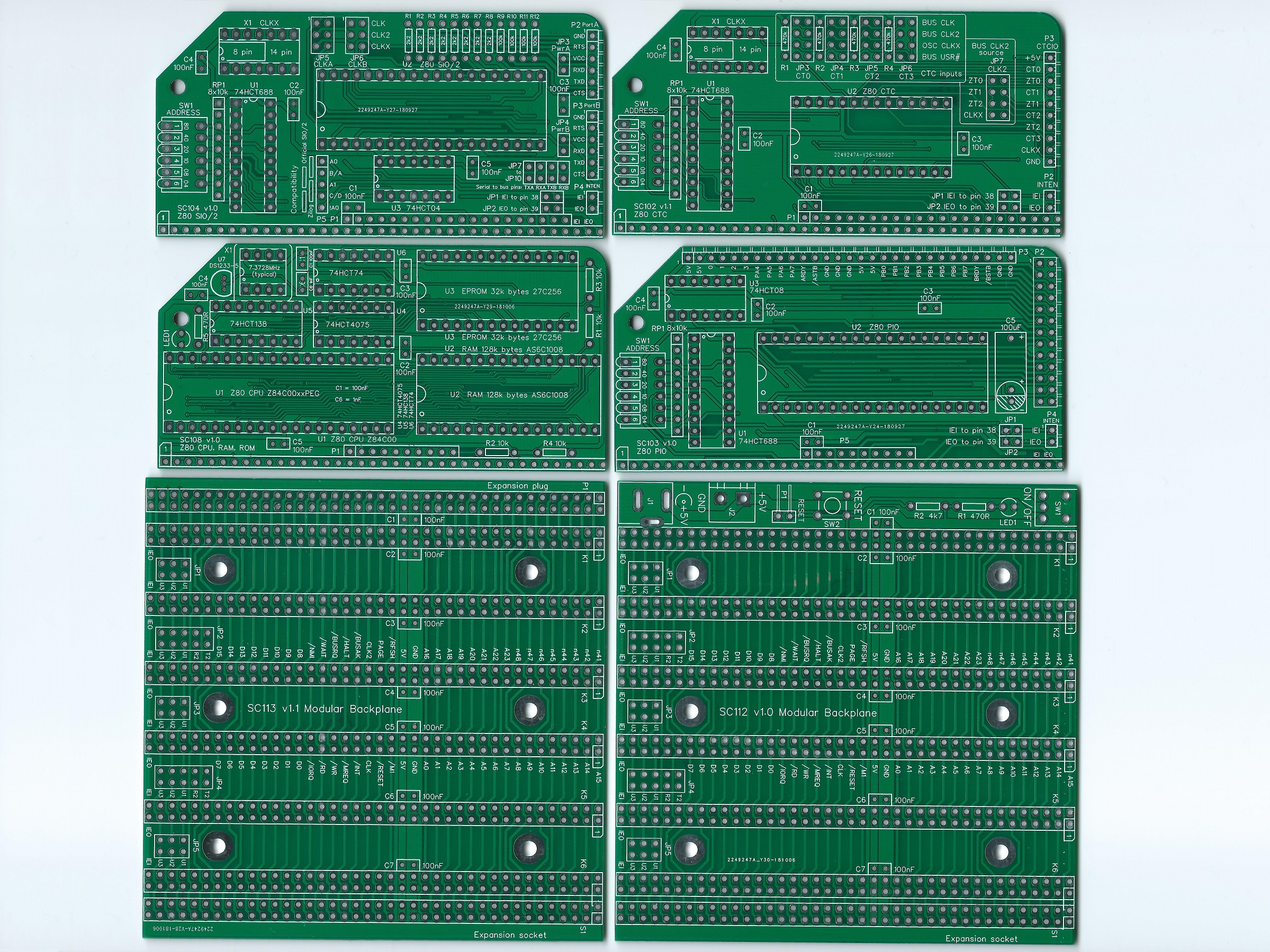 SC202 PCB Image Green Top