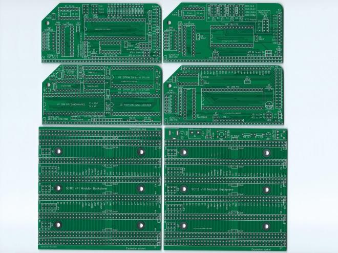SC202 PCB Image Green Top